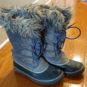 Sorel Joan of Arctic snow boots size 9 gray